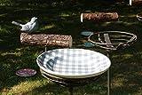 Timmasiru Meisenknödelhalter auf Stab, Vogeltränke auf Stab, Futterstelle auf Stab, Wasserspender Vogelstange Vogelfutter Wasserstelle Futtertrog