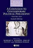 Companion to Contemporary Political 2e (Blackwell Companions to Philosophy)
