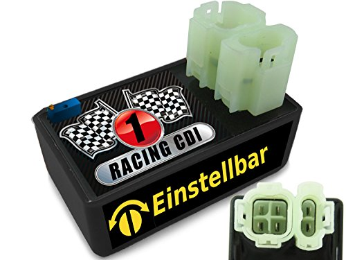 EINSTELLBARE Racing CDI CDI für 4Takt 50ccm China Motorroller REX RS450, RS 500, Off Limit