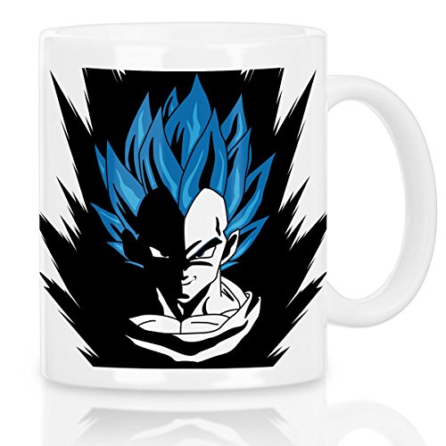 style3 Super Vegeta Blue God Mode Tasse avec motif