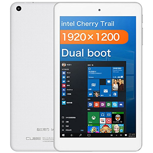 Alldocube iwork8 Air Pro - 8 Zoll Tablet PC (Android 5.1, Windows 10, Intel Atom x5-Z8350 64bit Quad Core 1.44GHz, FHD 1200*1920 pixels, 2GB RAM 32GB ROM, mit HDMI)