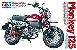 TAMIYA 14134 14134-1:12 Honda Monkey 125, Modellbau, Plastik Bausatz, unlackiert