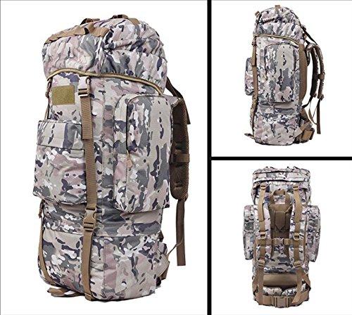 BM Zaino Outdoor escursionismo borsa zaino 100L grande capacità per il tempo libero viaggi sport borse da viaggio per uomini e donne a piedi , cp camouflage cp camouflage