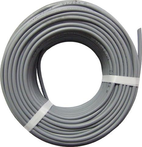 Electraline 20607088I Câble électrique HO5 VV-F 3x2,5mm² - Gris, 25m