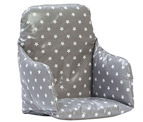 messy-me-chaise-haute-inserer-coussin-essuyez-ciree-propre-etoile-grise-classique