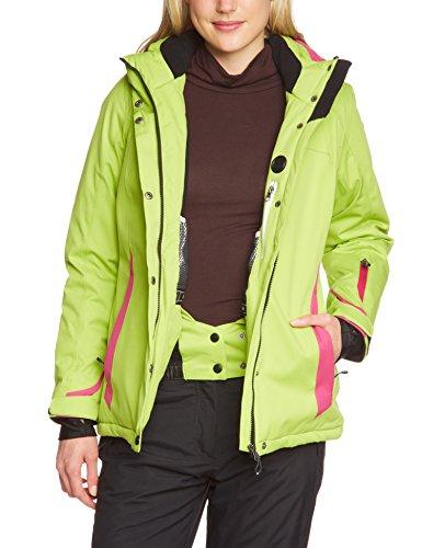 Killtec Damen Funktionsjacke mit Abzipbarer Kapuze Shirley Frühlingsgrün