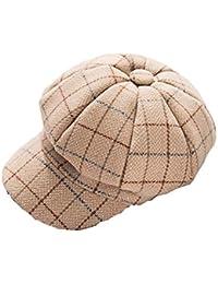 J-TUMIA Boinas de Lana para Mujer Gorritas clásicas Retro Gorra para Mujer  Sombreros Baker Boy Gorro Plano Vendedor de periódicos… 2bb247be640e
