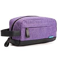 cd926daf7c CoolBELL Toiletry Bag Organizer Dopp Kit Case Makeup Bag Leak Resistant  with Handle Strap for Men