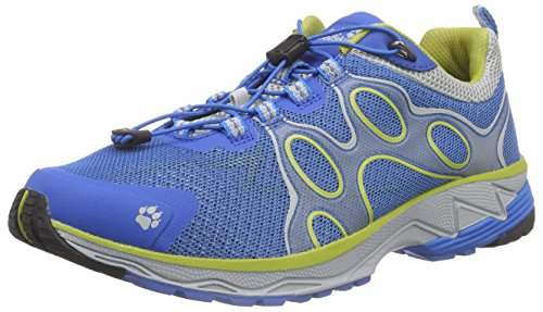 Jack Wolfskin PASSION TRAIL LOW M, Herren Outdoor Fitnessschuhe, Blau (brilliant blue 1152), 42.5 EU (8.5 Herren UK)
