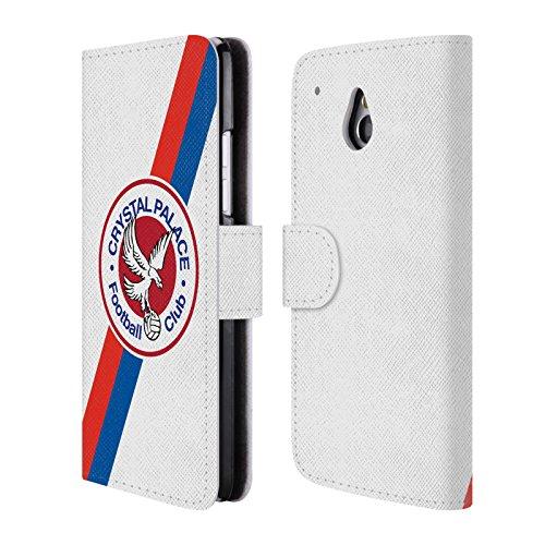 Ufficiale Crystal Palace FC 70's Logo Aquila 2016/17 Collezione Retro Badge Cover a portafoglio in pelle per HTC One mini