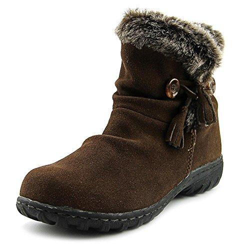 Khombu Frauen Isabella Runder Zeh Wildleder Kaltes Wetter Stiefel Braun Groesse 5 US/35.5 EU (Damen-wildleder-kalt-wetter-stiefel)
