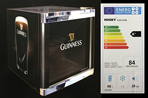 Husky HUS-CC 54 Coolcube Cool Cube Flaschenkühlschrank Guinness  A  51 cm Höhe  84 kWhJahr  50 L Kühlteil inkl. Reinigungstuch