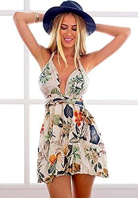 LookbookStore - Mini vestido  top cruzado