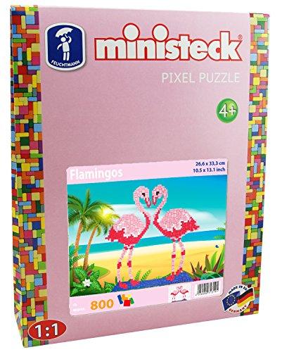 Ministeck 31319Flamencos XL Box, Aprox. 800Piezas