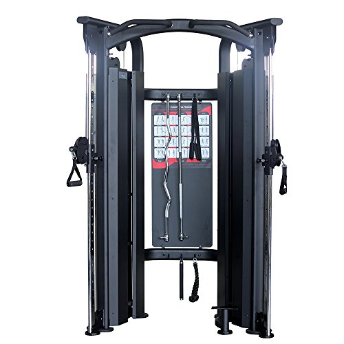 Primal Strength Stealth Commercial Fitness Elite fonctionnelle Trainer et accessoires Mat Nero