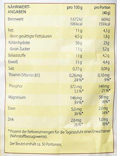 """Kölln Müsli Schoko """"30 % weniger Zucker"""", 1er Pack (1 x 2 kg)"""