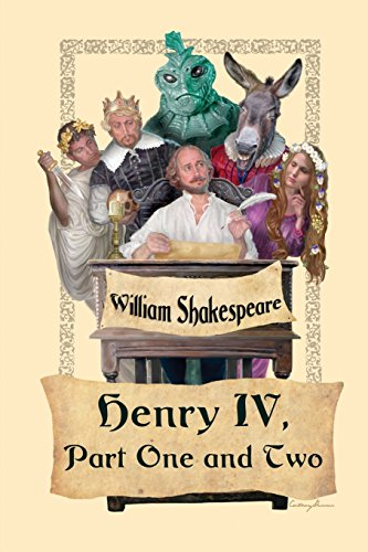King Henry IV,  Part One and Two por William Shakespeare