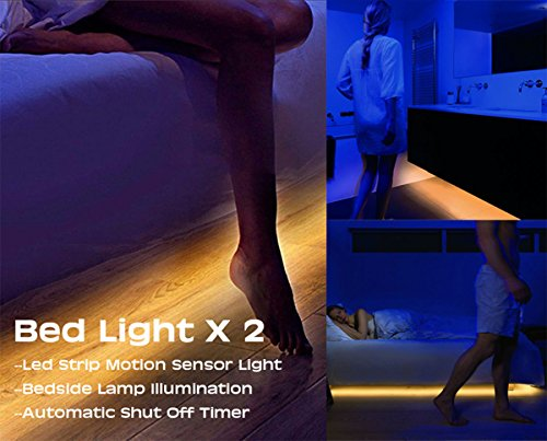 preisvergleich bewegung aktiviert bett licht iuqy flexible led willbilliger. Black Bedroom Furniture Sets. Home Design Ideas