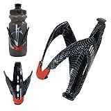 VeloChampion - Porte-bidon en alliage carbone aspect carbone FibreCarbon Water Bottle Cage