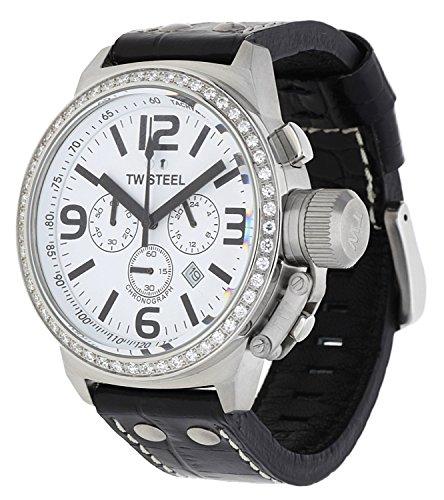 TW Steel orologio da polso da donna Canteen Cronografo Nero TW 10–1