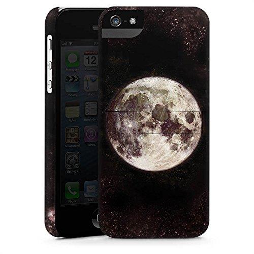 Apple iPhone 6s Silikon Hülle Case Schutzhülle Mond Moon Universum Premium Case StandUp
