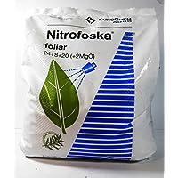 Nitrofoska Abono foliar 24-08-20. 5 Kilos. Primavera y brotacion.
