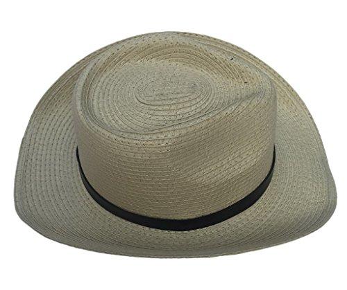 Smile YKK Fashion Paille Chapeau de Soliel de Beach Respirant Pour Enfant Beige