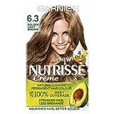 Garnier Nutrisse 6.3 Golden Light Brown Permanent Hair Dye