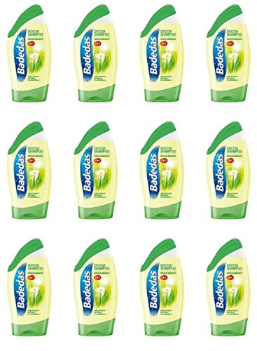 12 X DOCCIA Shampoo 2 in 1 Badedas Classic Bagno schiuma