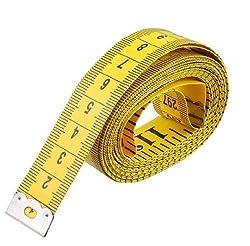 Multi Usage Double Scale Weiche Maßband Flexible Lineal für Gewichtsverlust Medizinische Körpermaße Nähen Schneider Tuch Lineal 3 mt