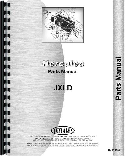 Hercules Engines JXLD Motorteile Handbuch