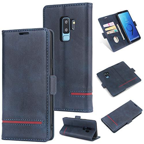 KAMILEO Samsung S9p Hülle, Klapphülle Flip Case Kunstleder mit Schutzhülle Back Cover Protective Brieftasche Wallet Case Magnetische mit Kartenfach Standfunktion