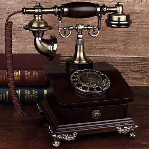 SMBYLL Telefon, europäisches Retro-Telefon, chinesisches Home-Office, Festnetz, altmodisches Festnetz Festes Telefon