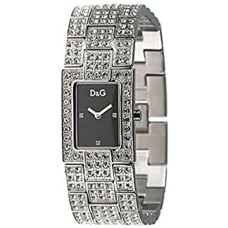 072dbc62830a Dolce   Gabbana 3719251037 – Reloj de mujer de cuarzo con correa de acero  inoxidable plateada