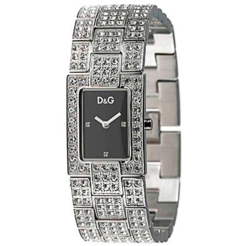 Dolce & Gabbana 3719251037–Orologio da donna al quarzo con cinturino in acciaio inox argento