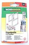 WINDHAGER - Magnetprofile - schwarz - 6er-Pack - 03592