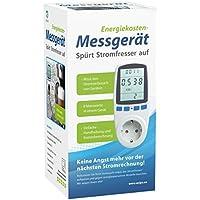 Tevigo Energiekosten-Messgerät, Stromtarif frei einstellbar, Stromverbrauch, aufspüren von Stromfressern   Deutscher Hersteller