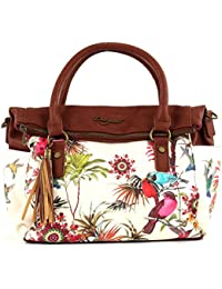 sac desigual bols liberty new tropic blanc