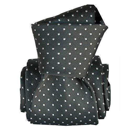Segni et Disegni - Cravate Segni Disegni Luxe, Faite Main, Artemis Noir