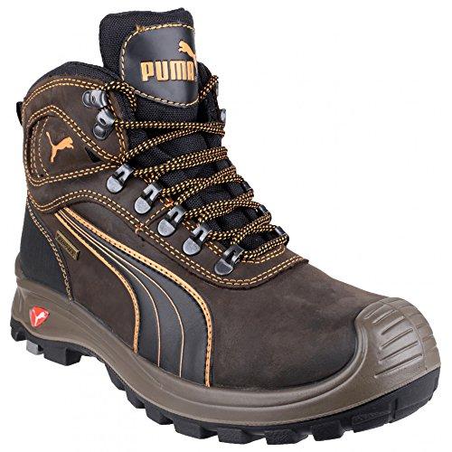 Puma Safety Sierra Nevada Mid - Chaussures montantes de sécurité - Homme Marron