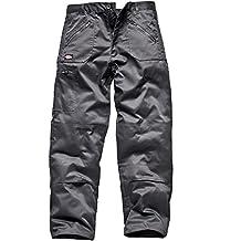 Dickies Redhawk Action WD814, Pantalones de trabajo, Gris, 36S