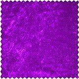 Elastic-Samt, uni, lila, 150 cm breit, Meterware