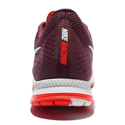 Nike Herren Zoom Streak 6 Laufschuhe Rojo (Rojo (bright crimson/white-night maroon-white))