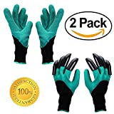 Garten Genie Handschuhe - AINATU Graben & planting-gardening Handschuhe (2 Paar)
