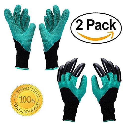 Garten Genie Handschuhe - AINATU Graben & planting-gardening Handschuhe (2 (Claw Handschuhe)