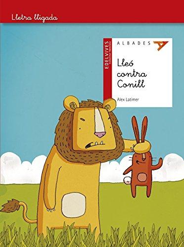 Lleó contra conill (Lletra lligada) por Alex Latimer