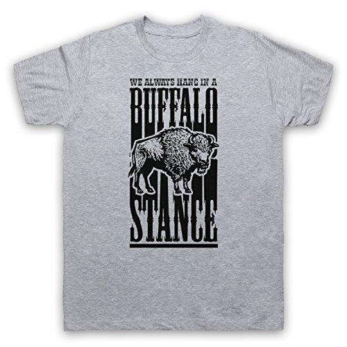 Inspiriert durch Neneh Cherry Buffalo Stance Unofficial Herren T-Shirt Grau