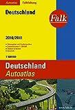 Falk Autoatlas Falkfaltung 2010/2011: Deutschland 1:500000 (Falk Atlanten)