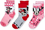 Disney Girl's Minnie Mouse Socks, Multicoloured (Pack2), 8-9 Review and Comparison