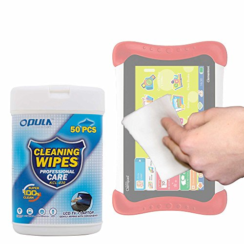 Foto de Toallitas Especiales Para Limpiar La Pantalla De Tablet Infantil Clementoni Il Mio Primo Clempad 7